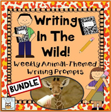 Writing Prompts: Narrative | Animal Picture Activity Multi