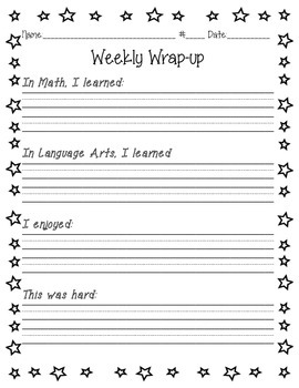 Weekly Writing Wrap-Up