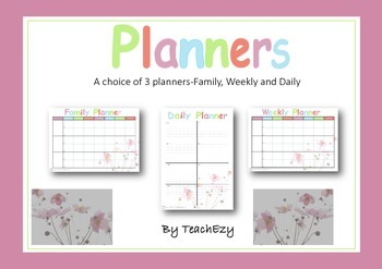Weekly and Daily Planners