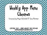 Weekly iPad & iPod App Menu: Chevron