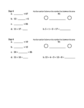 Weekly math review 3