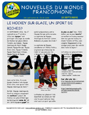 Weekly news summaries for French students: September 18, 2016