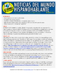 Weekly news summaries for Spanish students: March 28, 2016