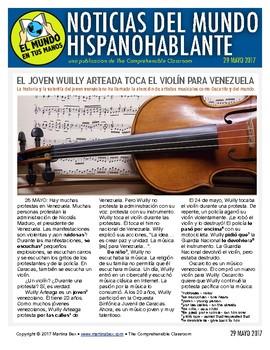 Weekly news summaries for Spanish students: May 29, 2017