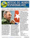 Weekly news summaries for Spanish students: November 27, 2016