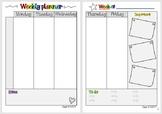 Weekly planner (Teacher binder FREEBIE)