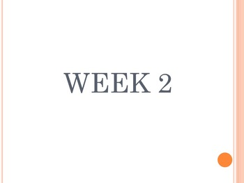Weeks 2-16 of ELAR Warm Ups