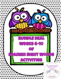Weeks 6-10 Spanish Sight Words Daily Activity