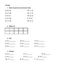 Weeks worth of Common core-first grade math spirals