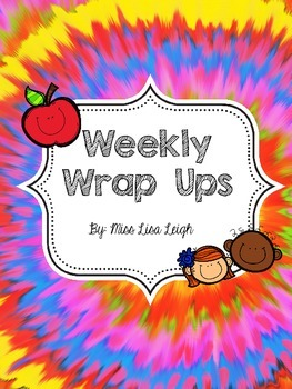 Weeky Wrap Up Bell Work