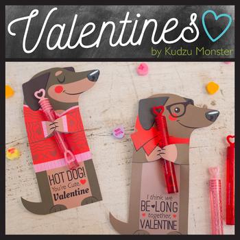 Weenie Valentine Treat Hugger