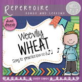 Weevily Wheat - Low So and Syncopation Practice Activities