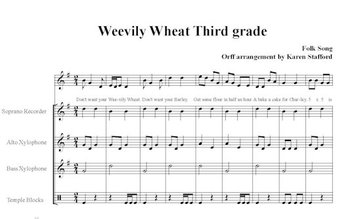 Weevily Wheat Musical Multiplication Facts