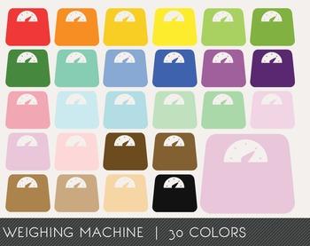 Weighing Machine Digital Clipart, Weighing Machine Graphics