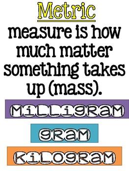 weight metric