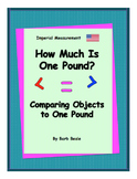 Weight - How Much Is One Pound? Imperial Measurement - 1 page FREEBIE