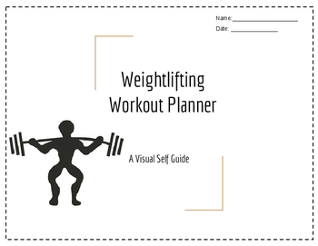 Weight Lifting Workout Planner