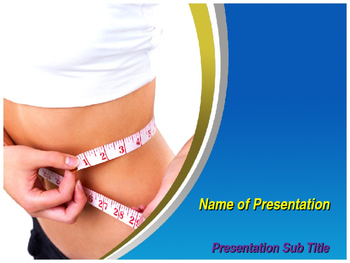 Weight Loss PowerPoint Template