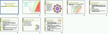 Weight Management Body Image Smartboard Notebook Lesson Plan
