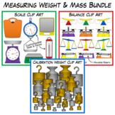 Weight & Mass Measurement Clip Art Bundle