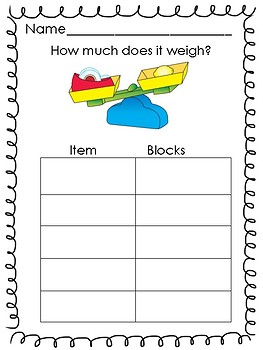 Weight Measurement Lesson Using Balances