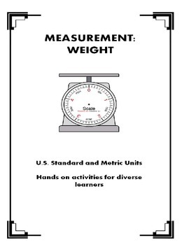 Weight Measurement Unit Special Ed
