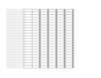 Weight Percent Chart