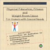 Physical Education, Fitness, & Weight Room Ideas for Stude