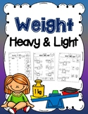 Weight - Sort Heavy and Light (Cut and Paste)