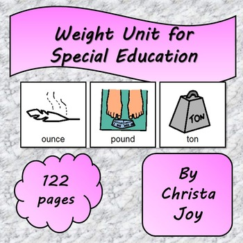 Weight Unit for Special Education