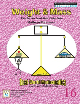 Teaching Weight and Mass - Daily Math Practice Worksheets {30 Weeks}