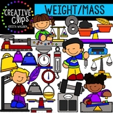Weight and Mass: Measurement Clipart {Creative Clips Clipart}