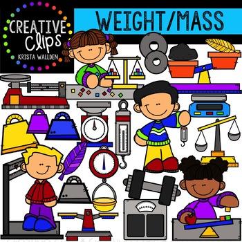 weight and mass measurement clipart creative clips clipart tpt rh teacherspayteachers com mass clipart png family masks clipart