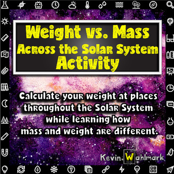 Weight vs Mass Across the Solar System Activity