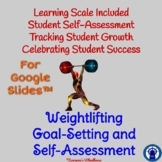 Weightlifting Unit Goal-Setting and Self-Assessment Rubric