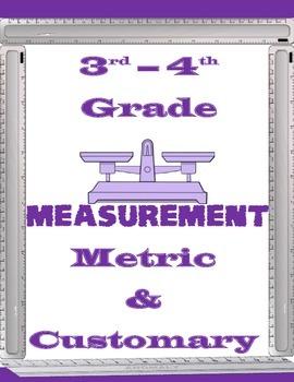 Measurement Worksheets 3rd-4th Grade