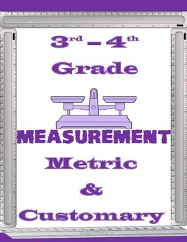 Measurement Worksheets 3rd-4th Grade