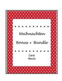 Weihnachten Bonus * Bundle ~ German Christmas Activities
