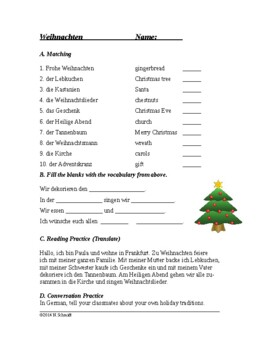O Tannenbaum Text Deutsch.German Christmas Worksheets Teaching Resources Tpt