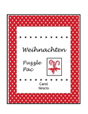 Weihnachten Puzzle * Pac ~ German Christmas Activities