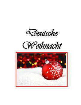 Weihnachten Puzzle * Pac ~ German Christmas Activities