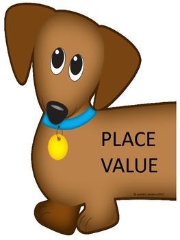 Weiner Dog Place Value