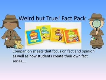 Weird But True! Fact Pack