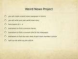 Weird News Project