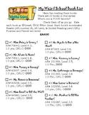 Weird School Series Book Lists