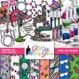 Chemistry Clip Art: Science Lab Safety Equipment Graphics {Glitter Meets Glue}