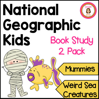 Weird Sea Creatures and Mummies Informational Book Club Packets
