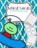 Context Clues: A Week of Weird Words!