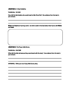 Weirder School- Miss Klute is a Hoot! Comprehension activities