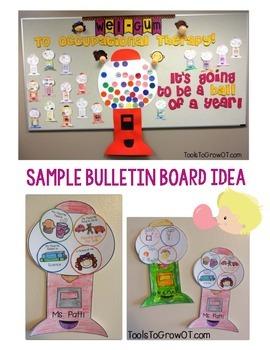 Wel-Gum Back to School Craftivity!!